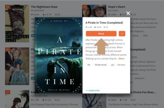 Wattpad - best sites to read books online